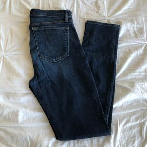 J Brand Mid Rise Skinny Jeans Size 28